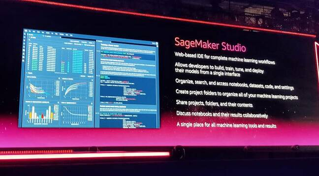 SageMaker Studio, a new web-based IDE for ML