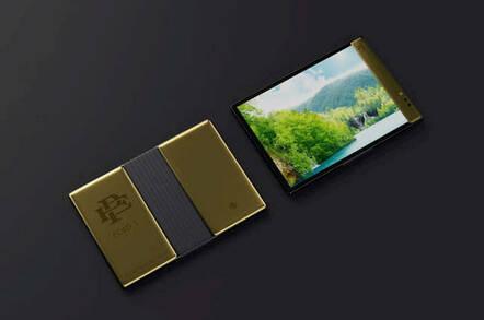 The Escobar Fold 1 foldable Phone