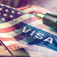 US visa illustration