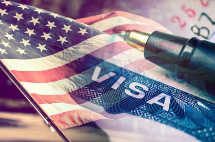 US visa illustration