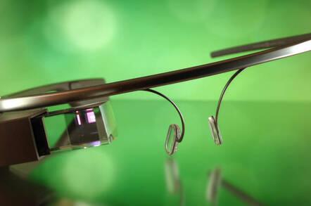 Google Glass Explorer, photo by Dan Leveille