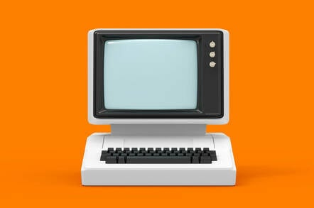 An old PC or terminal