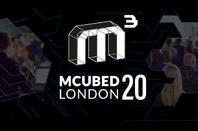 MCubed 20 logo