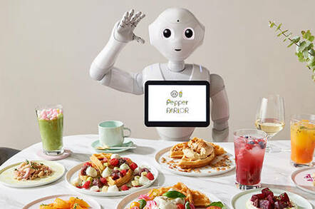 Pepper the robot