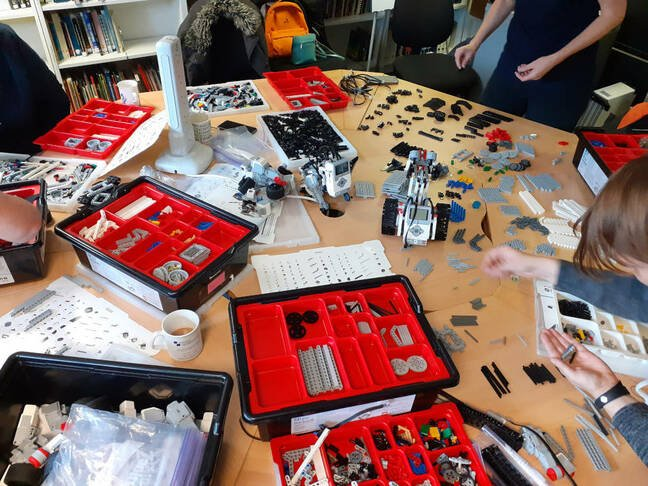 lego curation at TNMOC