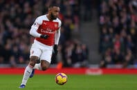 Alexandre Lacazette of Arsenal - Arsenal v Huddersfield Town, Premier League, Emirates Stadium, London (Holloway) - 8th December 2018