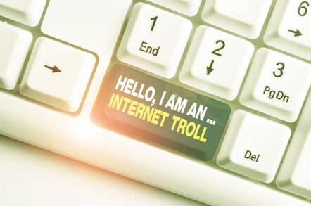 I am an internet troll