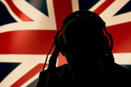 A British eavesdropper in the shadows