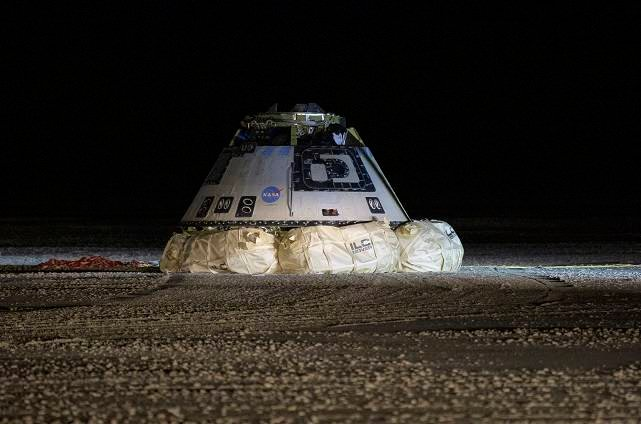 Boeing Starliner capsule lands successfully after a failed mission