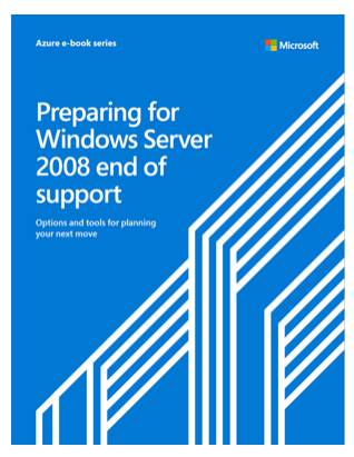 Microsoft's eBook about Server 2008 end of support is full of marketing for Azure