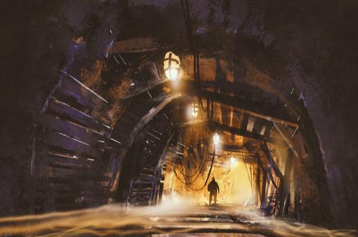 underground man photo via shutterstock