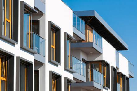 new build apartments/flats