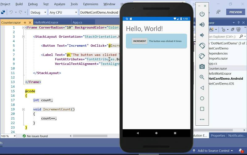 Look sharp: Microsoft Blazor's gone mobile. Fancy developing mobile apps with C# web technology?