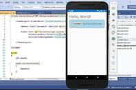 Codign a mobile Blazor app with Visual Studio and the Android emulatorator