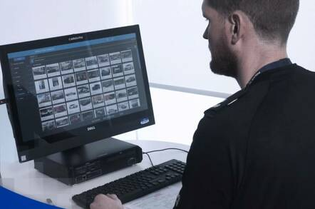 Still from Scottish police YouTube video showing use of a Cellebrite device