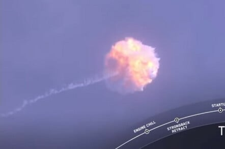 SpaceX abort test
