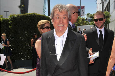Terry Jones at the 2010 Emmys in LA