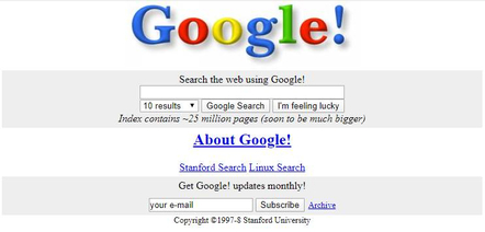 Back in 1998, Google focused on being the smartest, best-indexed search engine