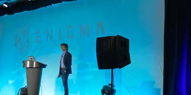 Google cryptographer Filippo Valsorda, at Enigma 2020