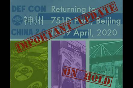 Defcon China bulletin