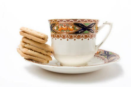 Tea and biccies