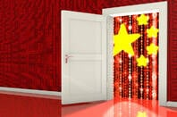 Illustration of a China backdoor
