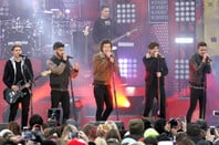 One Direction on 'Good Morning America' in Central Park on November 26, 2013 in New York City
