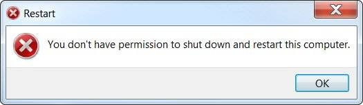 Windows 7 refusing to shut down