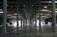 The interior of one of the pavilions of the Fira Barcelona exhibition centre. Pic: Shutterstock