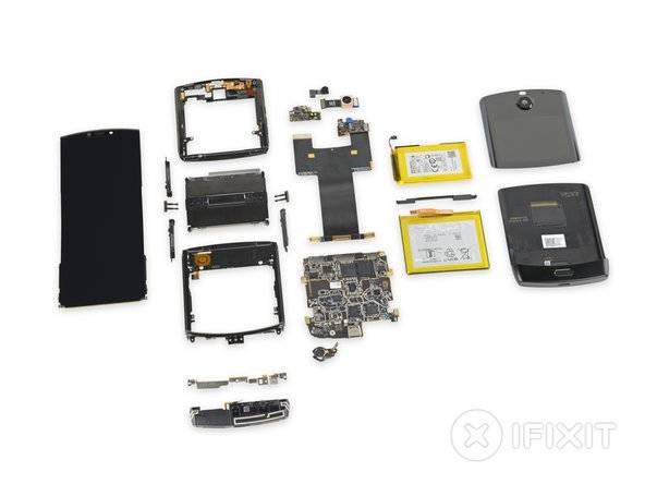 Motorola Razr Repairability Score is Unsurprisingly Bad