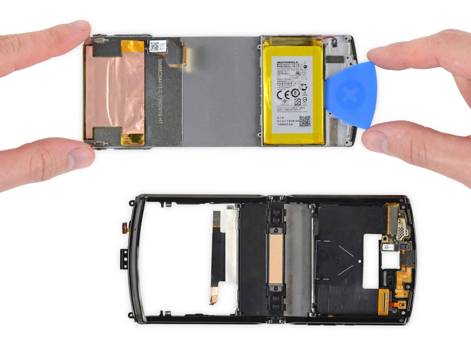 Motorola Razr teardown finds it practically impossible to fix
