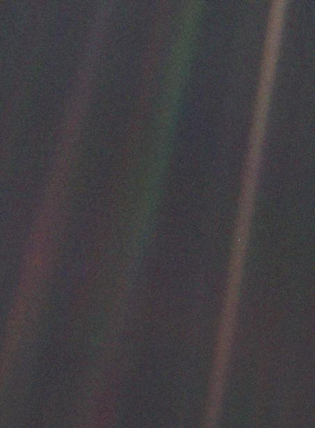 'That's here. That's home. That's us': It's 30 years since Voyager 1 looked back and squinted at a 'Pale Blue Dot'