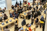 Inside an Apple Store