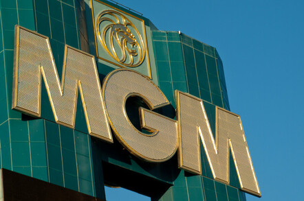 The MGM Grand hotel in Las Vegas, Nevada