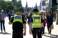 Police in London's city centre