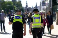 Police in London's city centre
