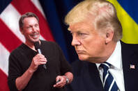 Larry Ellison and Donald Trump