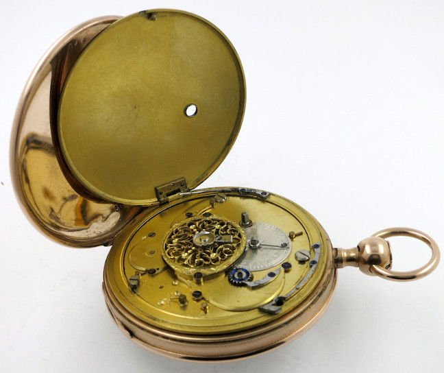 1820 Garcerand French repeating pocket watch. Image (c) and courtesy of www.cogsandpieces.com