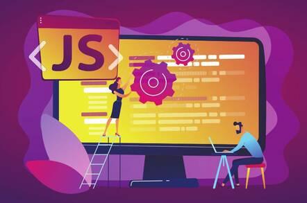Illustration of a JavaScript platform
