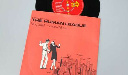 The Human League Being Boiled vinyl