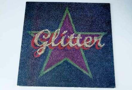 Glitter album front vinyl