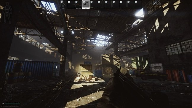 Factory, the smallest arena where close-quarters combat is unavoidable