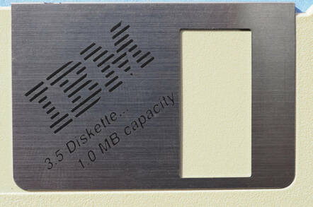 An IBM floppy disk