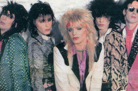 Finnish glam band Hanoi Rocks