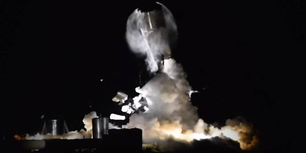 SpaceX Blows Up Another Starship Prototype