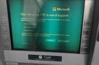 ATM asking for upgrade
