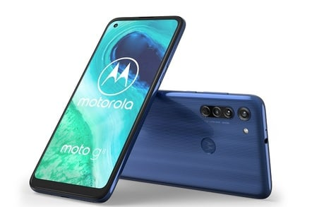 What kind of information can the Motorola spyware gather?