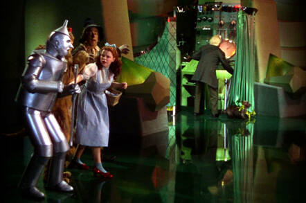 Still from the movie the Wizard of Oz