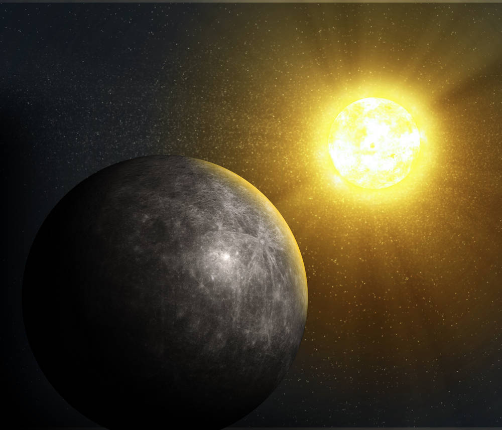 Mercury The Closest Planet To The Sun Surely Has No
