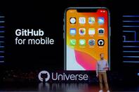 GitHub for mobile was announced at the Universe event in 2019